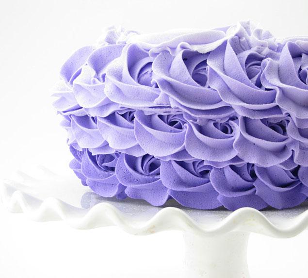 طرز تهیه ی تزیین کیک آمبره با طرح های مختلف