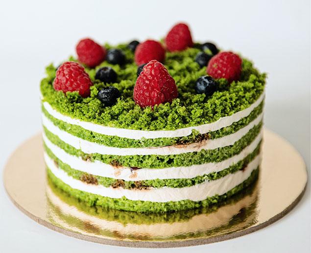 مواد مورد نیاز برای تهیه ی کیک اسفناج