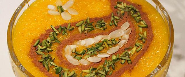 طرز تهیه شله زرد به با استفاده از آرد برنج