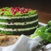 آموزش پخت کیک اسفناج