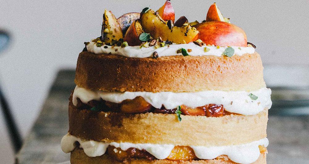طرز تهیه کیک ژنوآز
