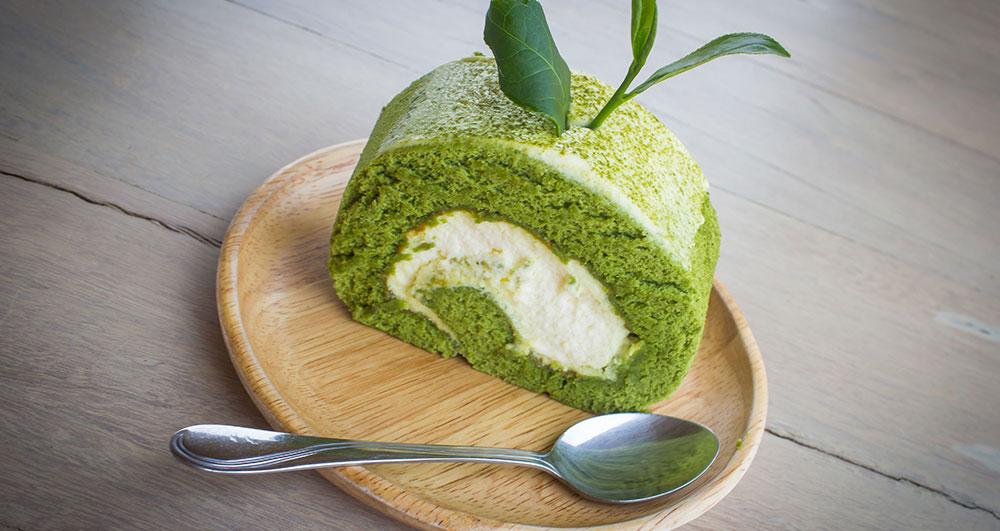 کیک چای سبز و روش پخت آن چگونه است؟