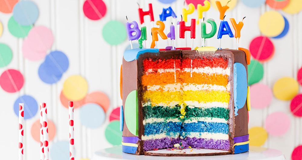 همه چیز در مورد طرز تهیه کیک رنگین کمانی