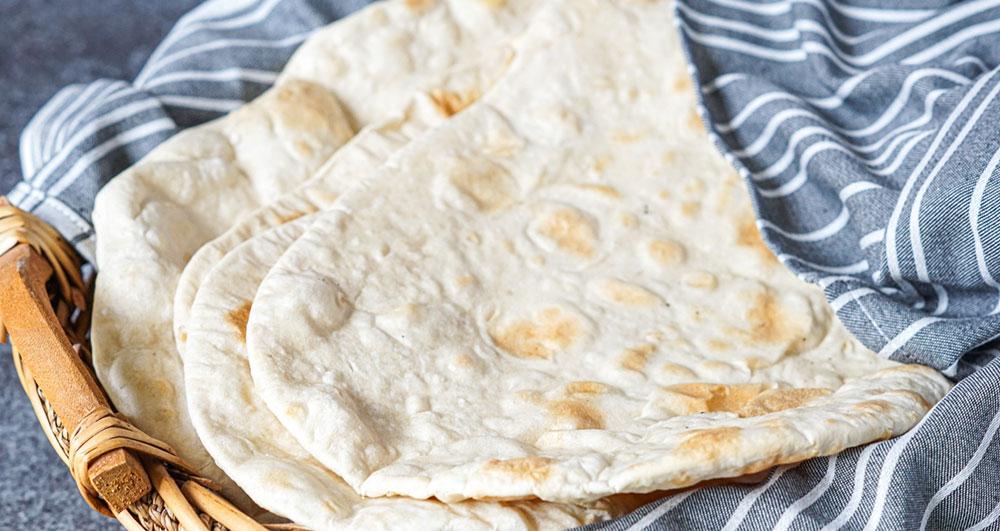 طرز تهیه نان لواش خانگی سالم و مقوی