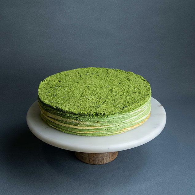 مواد لازم جهت پختن کیک خوش طعم و عطر چای سبز