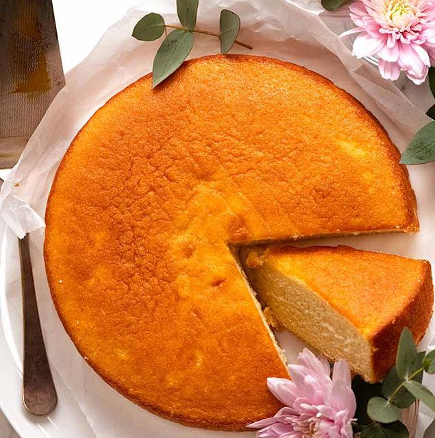 مواد لازم جهت تهیه کیک ساده بدون شیر