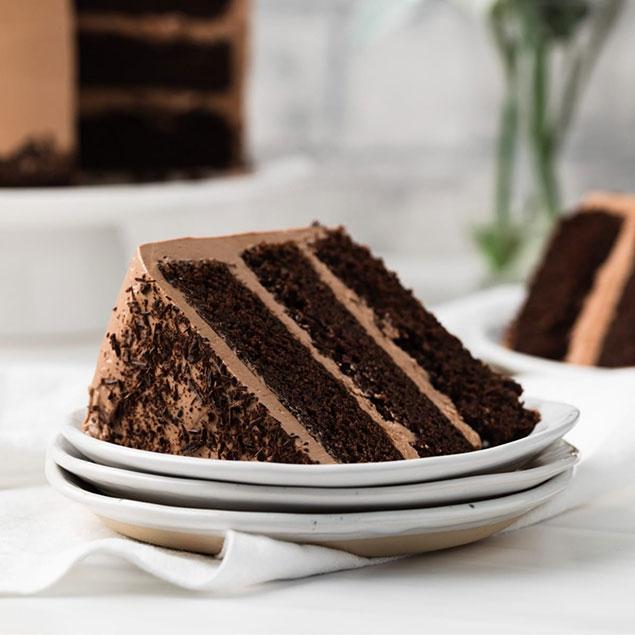 طرز تهیه کیک شکلاتی نوتلا