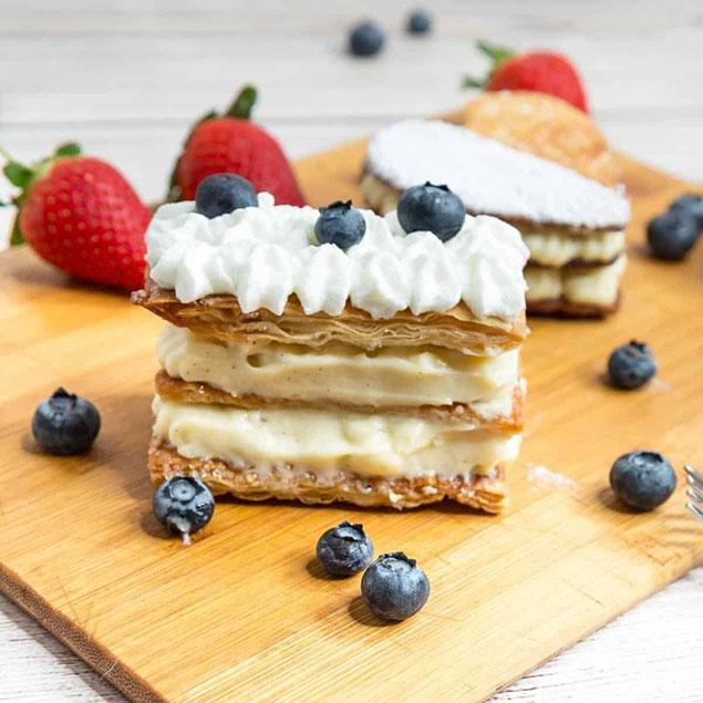 نکات مهم در ارتباط با تهیه شیرینی ناپلئونی