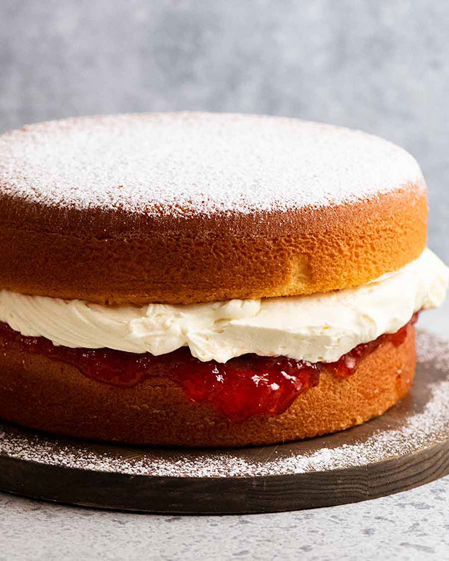 مواد اولیه جهت پخت کیک در خانه