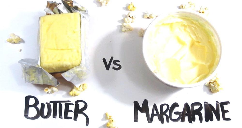 تفاوت کره با مارگارین چیست؟
