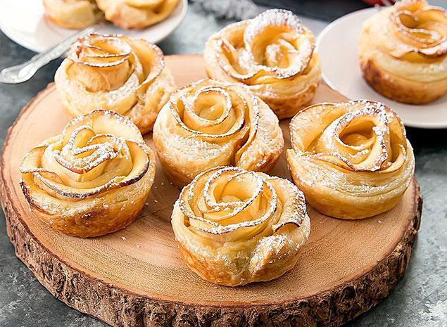 مواد لازم برای پخت شیرینی گل رز