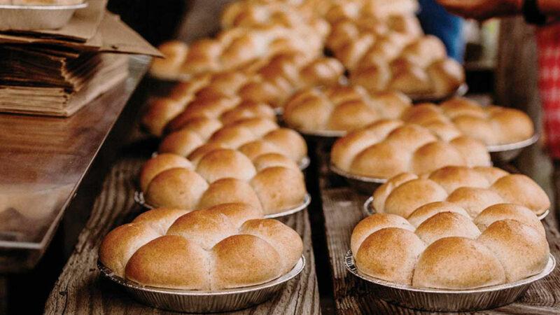 با طرز تهیه ی نان کندو آشنا شویم