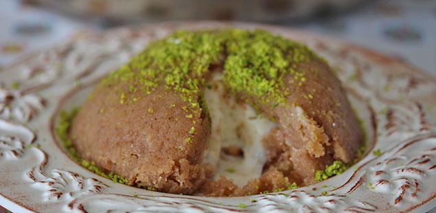 طرز تهیه کیک حلوا ایرمیک